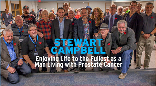 Stewart Campbell Living Life to the Fullest with Prostate Cancer