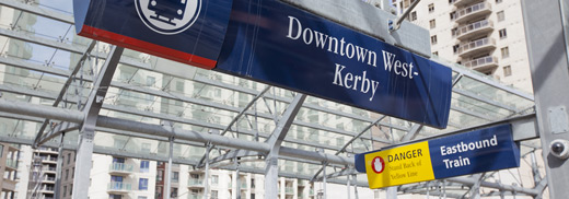 PCCN Calgary meetings are right off the Downtown West-Kerby C-Train stop!